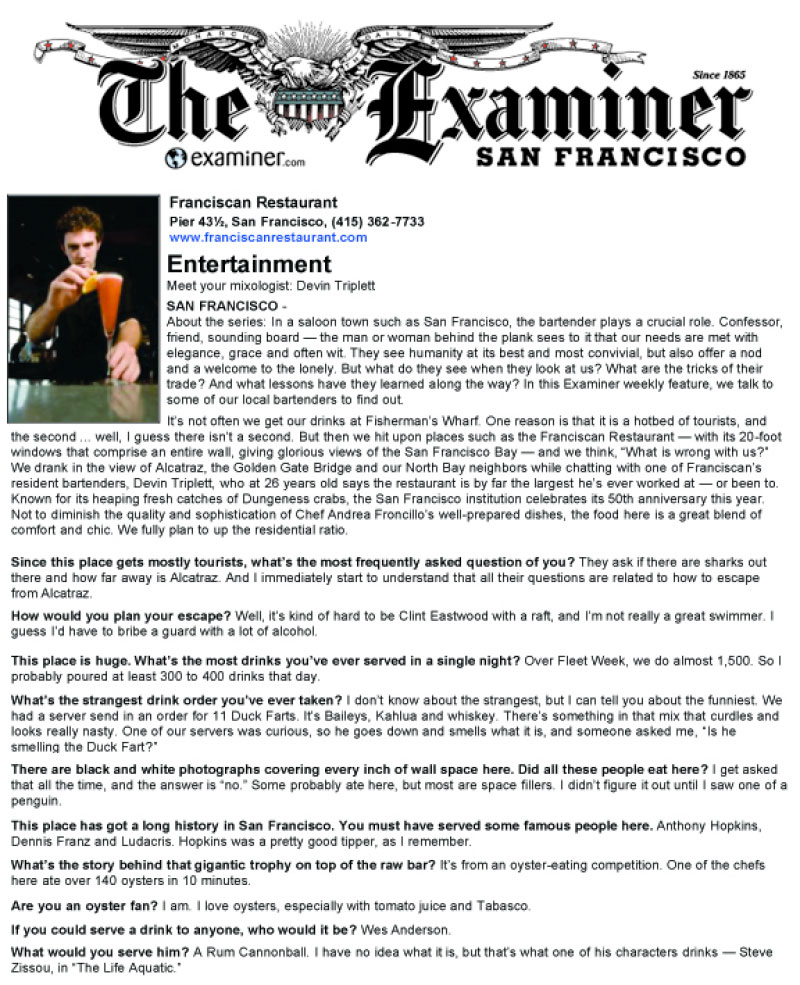The Examiner Review